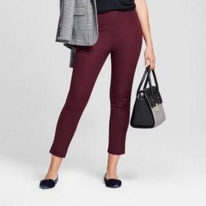 A New Day Berry Moment Skinny Ankle High Rise Pant